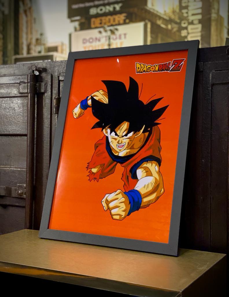 Quadro: Goku ( Dragon Ball Z )