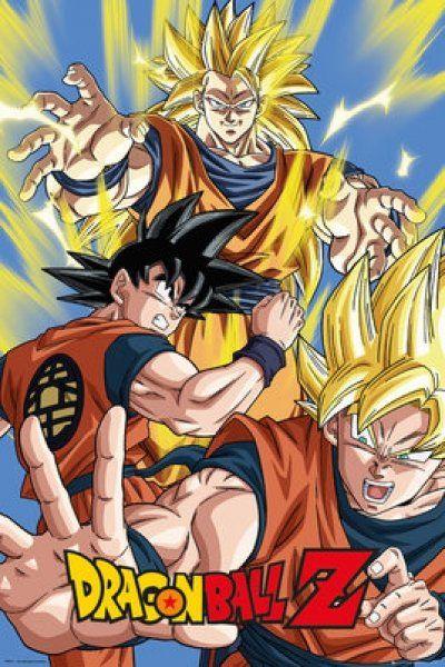 Quadro (Poster ) Goku: Dragon Ball Z - Wall Street Posters