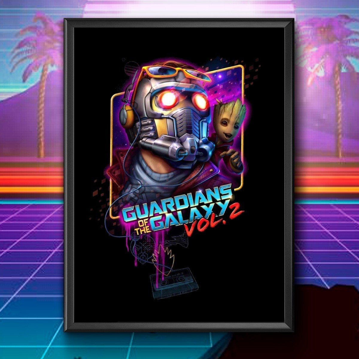 Quadro: Guardians Of The Galaxy Vol, 2
