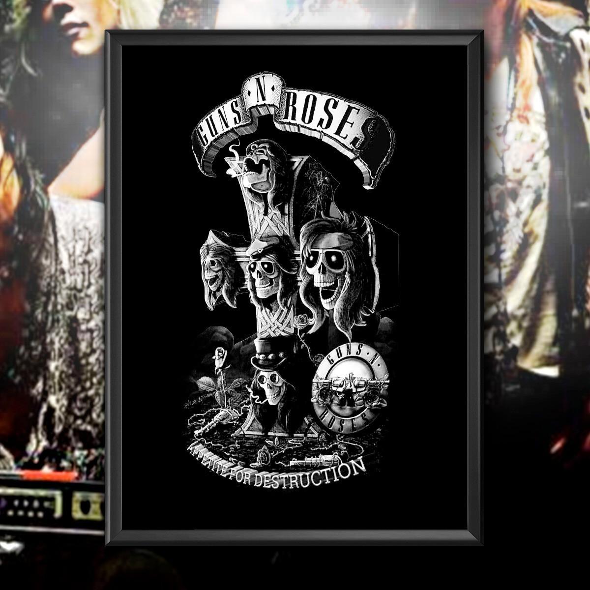 Quadro Guns N' Roses