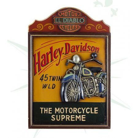 Quadro Harley Davidson Motorcycle Supreme - Oldway