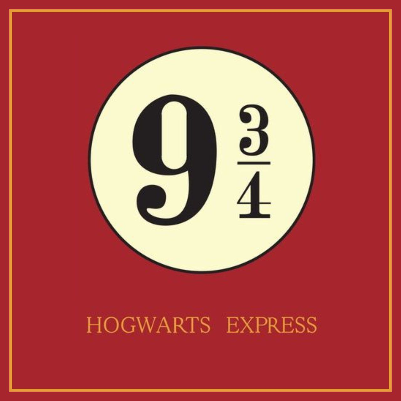 Quadro Hogwarts Express 9 3/4: Harry Potter - Wall