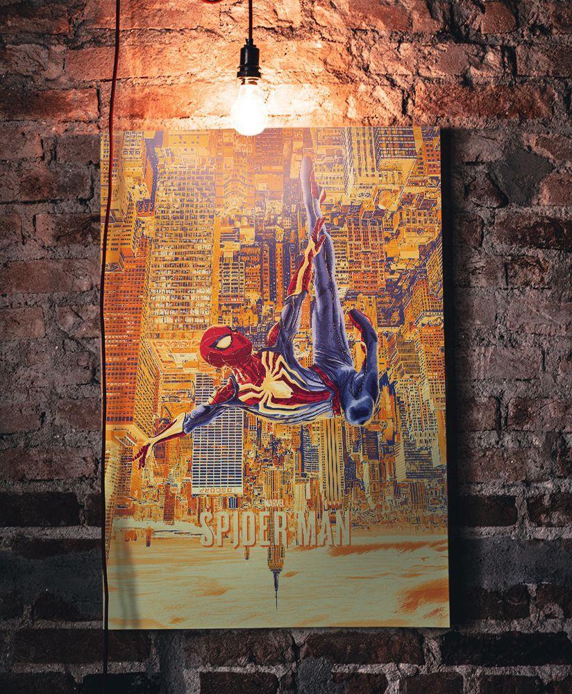 Quadro Homem-Aranha (Spider-Man): Spider-Man (PS4)