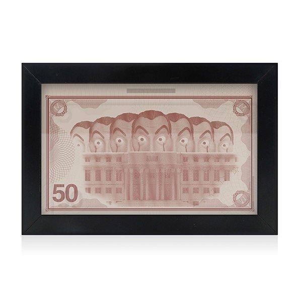 Quadro La Casa de Papel (Porta Dinheiro)