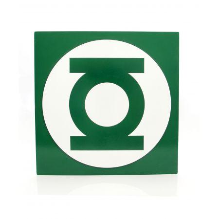 Quadro Lanterna Verde Logo - Geton