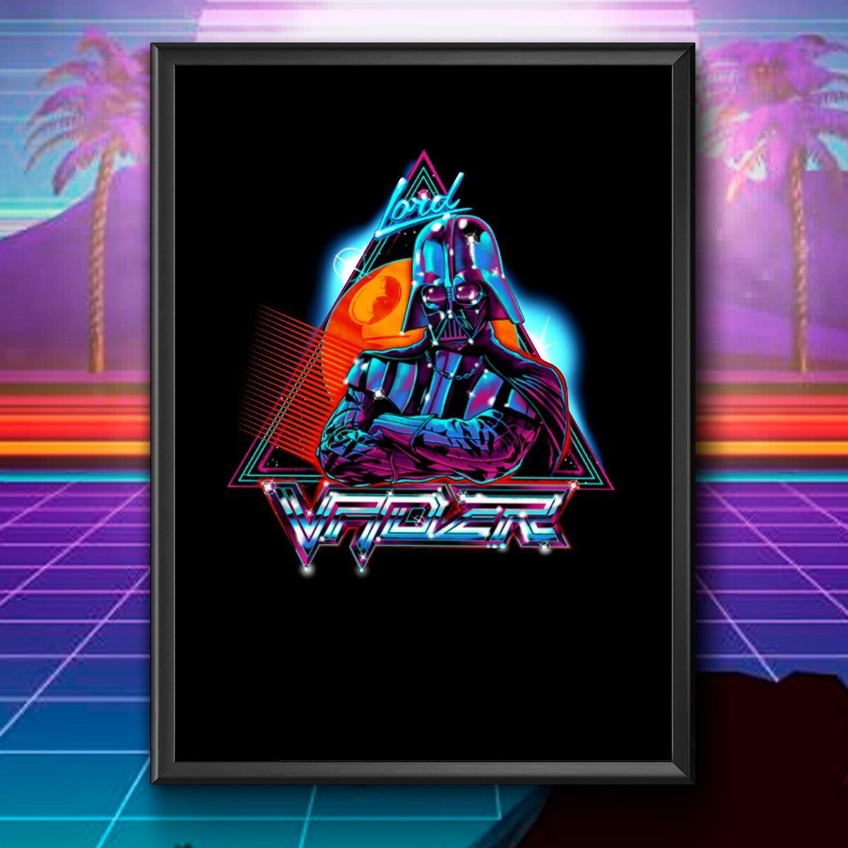 Quadro: Lord Vader: Star Wars  46x33cm - EV