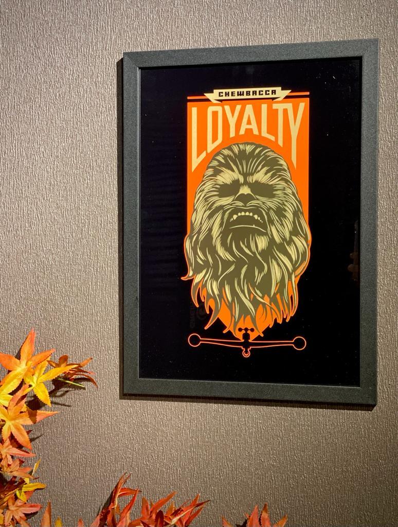 Quadro: ''Loyalty'' (Chewbacca) - Star Wars