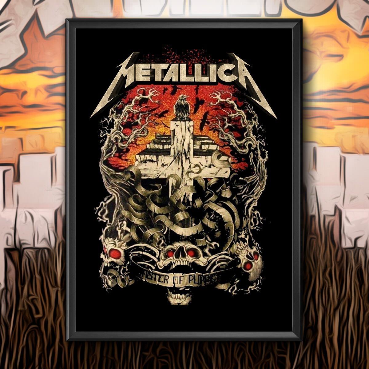 Quadro Master Of Puppets: Metallica