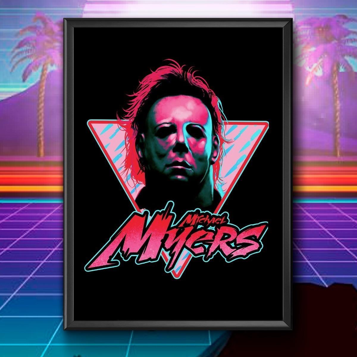 Quadro: Michael Myers ( Halloween ) - EV