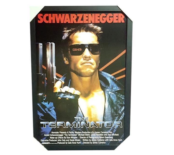 Quadro Moldurado - Terminator
