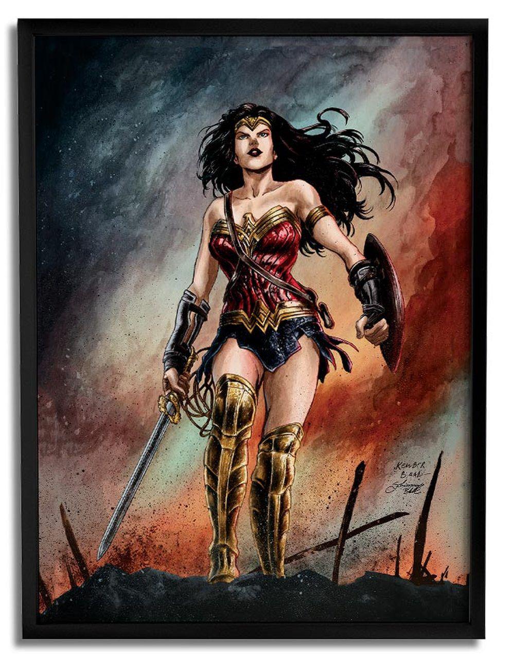 Quadro Mulher-Maravilha (Wonder Woman): Liga da Justiça (Justice League)