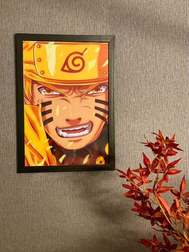 Quadro Naruto Uzumaki: Naruto Shippuden