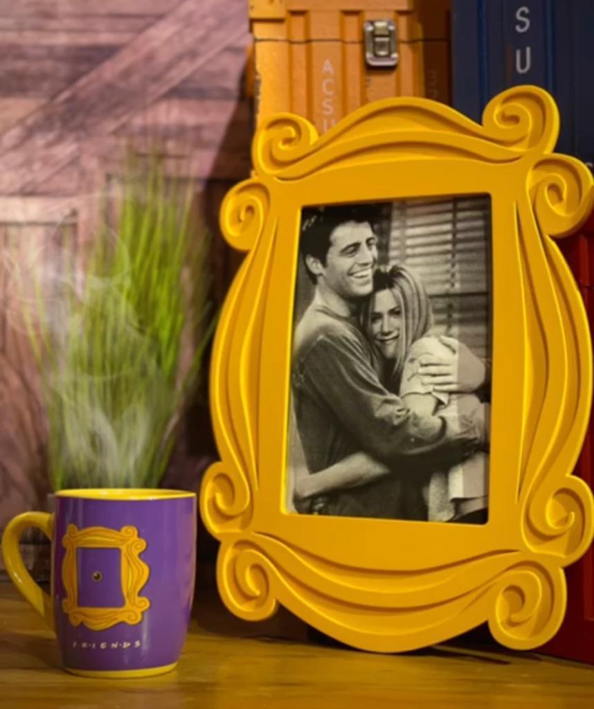 Quadro Porta Retrato Moldura: Amigos