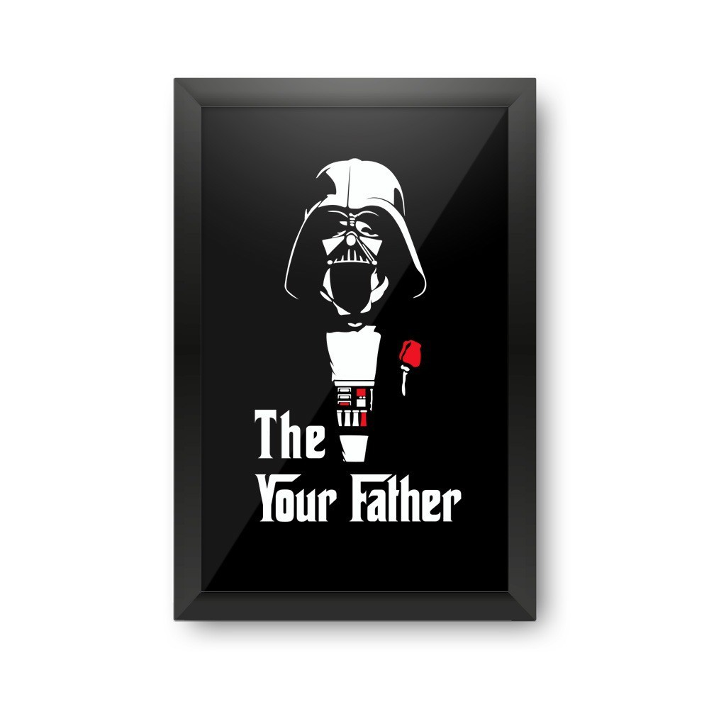 Quadro Porta Rolha The Your Father Darth Vader: Star Wars - EV