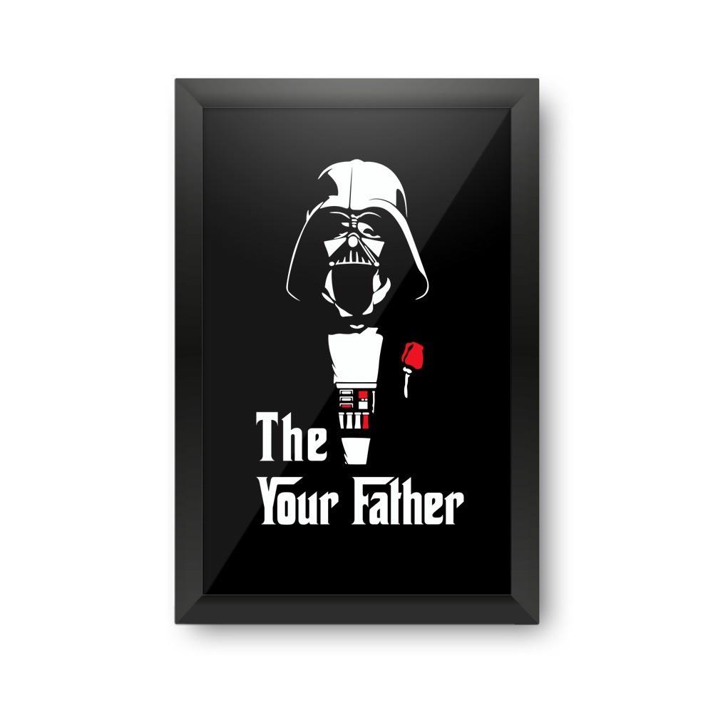 Quadro Porta Tampinha The Your Father: Star Wars