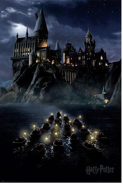 Quadro (Poster) Boats (Hogwarts): Harry Potter - Wall Street Posters