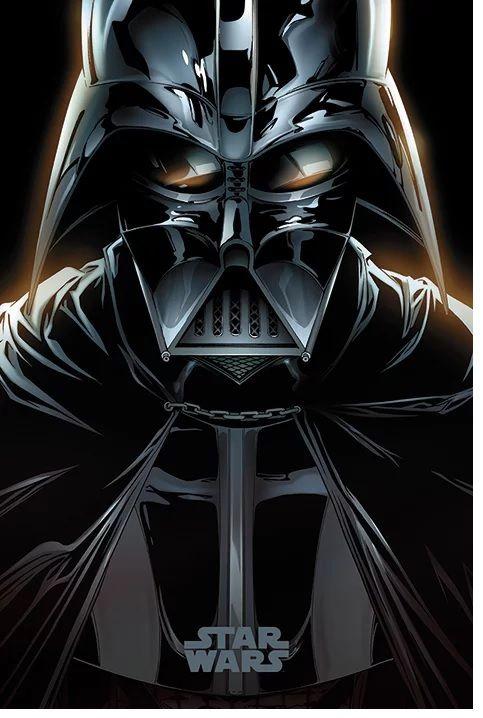 Quadro (Poster) Darth Vader: Star Wars - Wall Street Posters