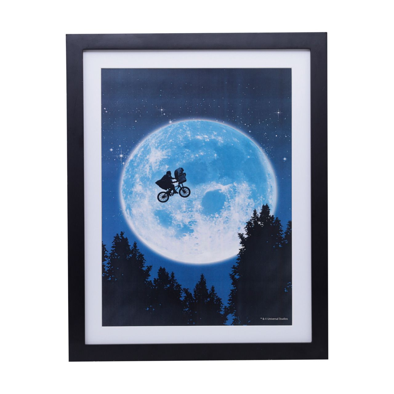 Quadro Poster E.T. (Bike in The Moon): E.T.: O Extraterrestre - Urban