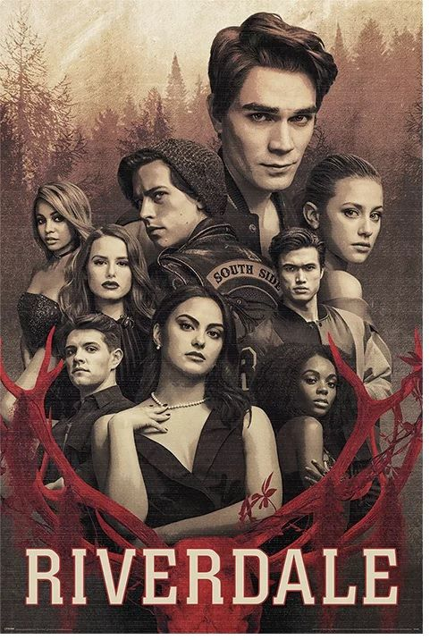 Quadro (Poster) Personagens: Riverdale - Wall Street Posters