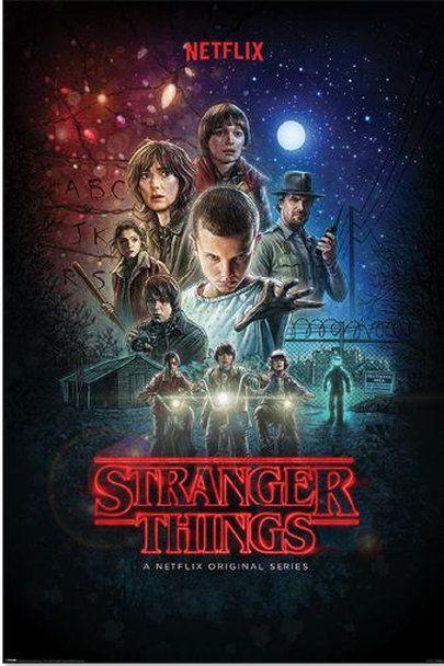 Quadro (Poster) Stranger Things - Wall Street Posters