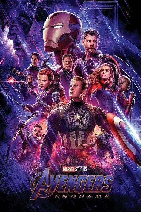 Quadro (Poster) Vingadores Ultimato (Avengers: Endgame) - Wall Street Posters