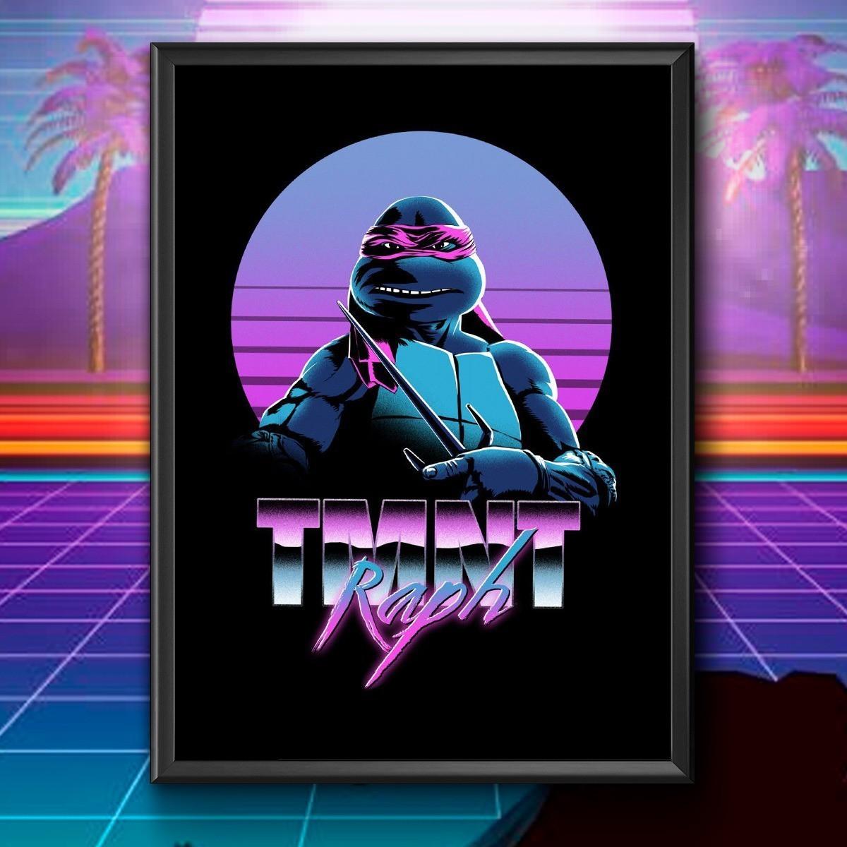 Quadro: Raph TMNT ( As Tartarugas Ninjas )
