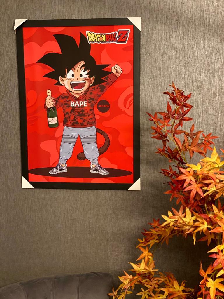 Quadro Son Goku: Dragon Ball Z 46x33