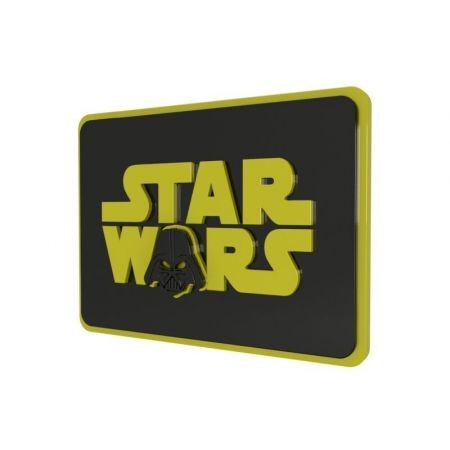 Quadro Star Wars Logo Darth Vader - Geton