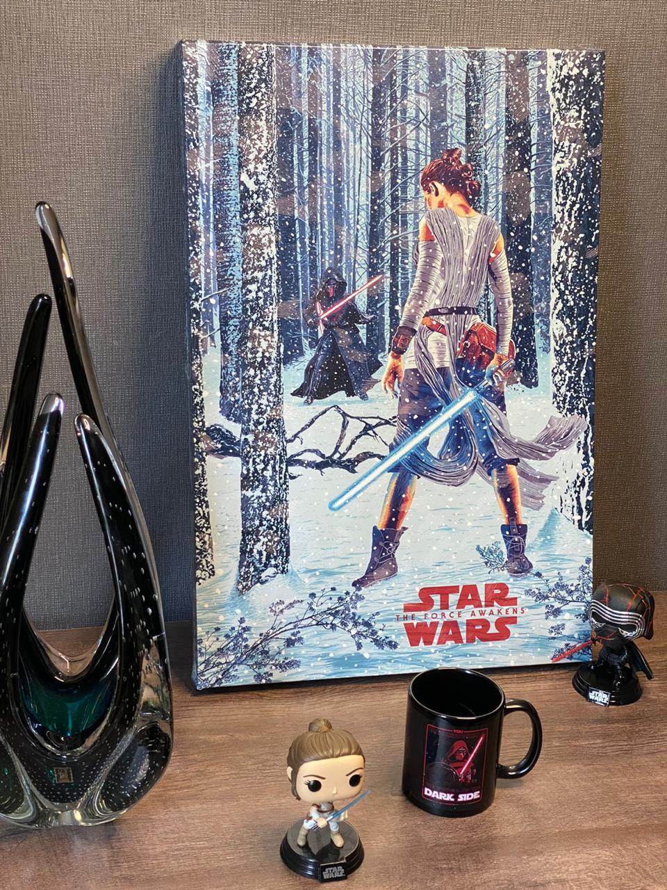 Quadro Prime Star Wars O Despertar da Força (The Force Awakens)
