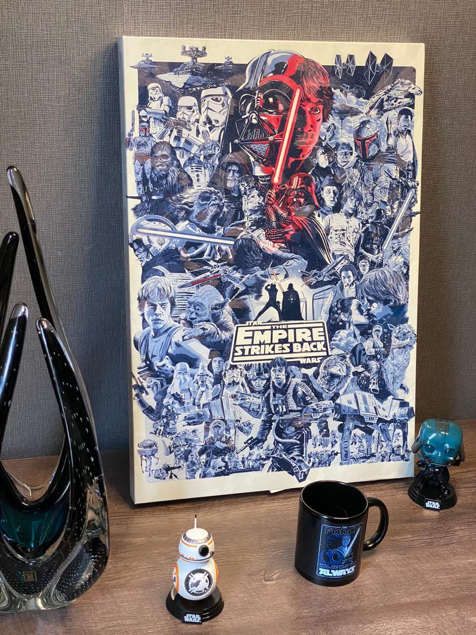 Quadro Star Wars O Império Contra-Ataca (The Empire Strikes Back)