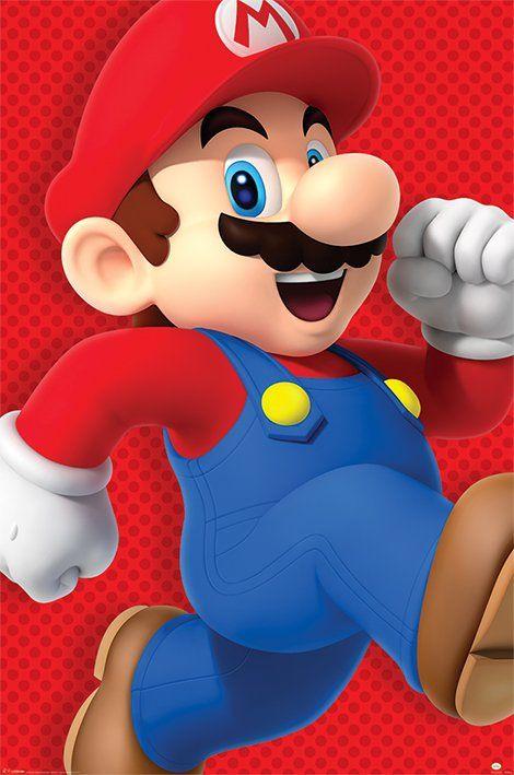 Quadro (Poster) Super Mario Run: Super Mario Bros - Wall Street Posters