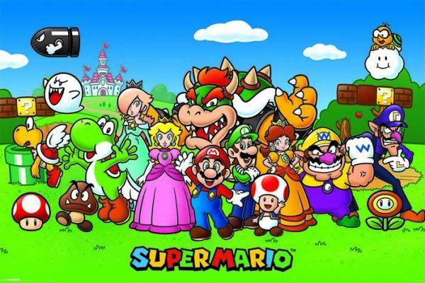 Quadro Super Mario: Super Mario Bros - Wall Street Posters