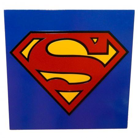 Quadro Superman Logo - Geton