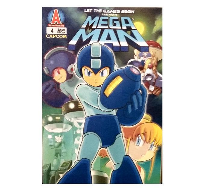 Quadro Tela Mega Man - Fabrica Geek