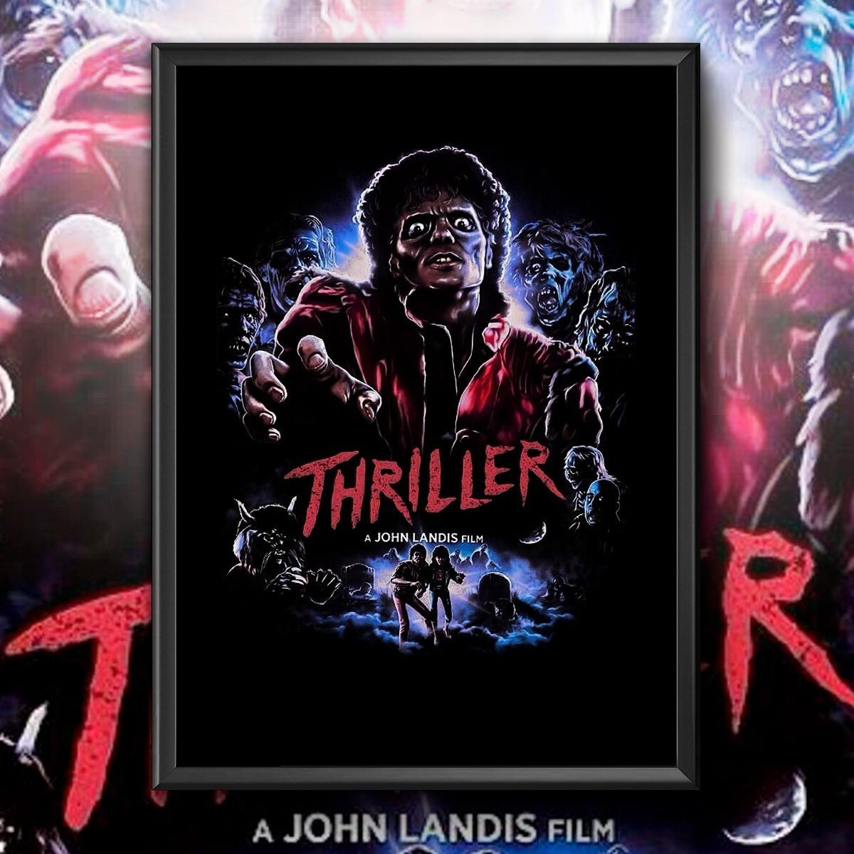 Quadro: '' Thriller '' ( Michael Jackson )