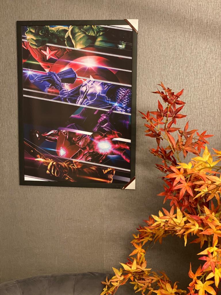 Quadro Vingadores (Avengers) 46x33 - EV