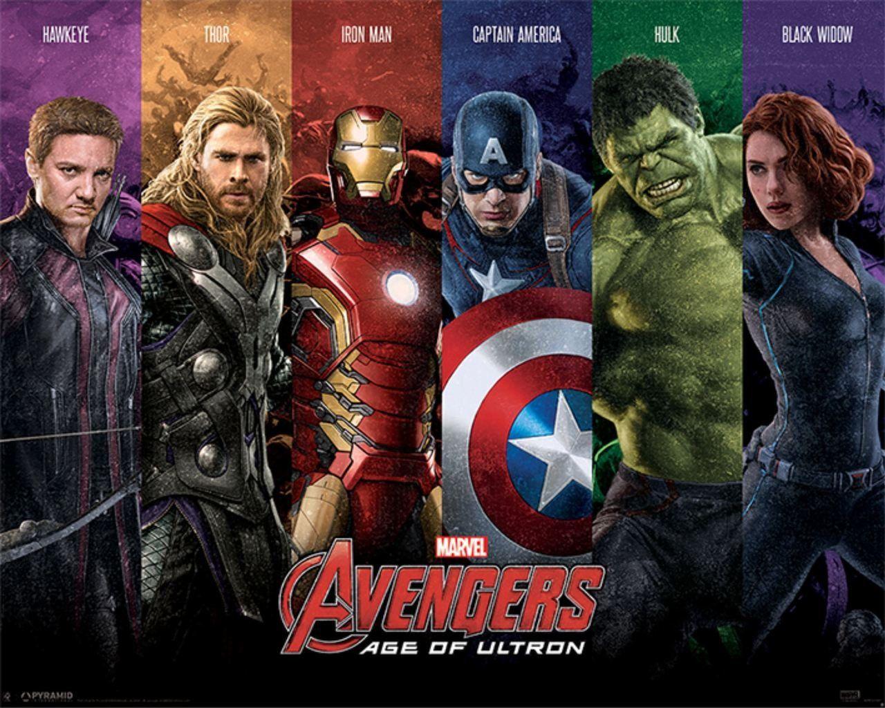 Quadro Vingadores: Era de Ultron (Avengers: Age of