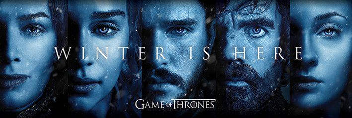 Quadro Winter is Here: Game of Thrones - Wall Street Posters