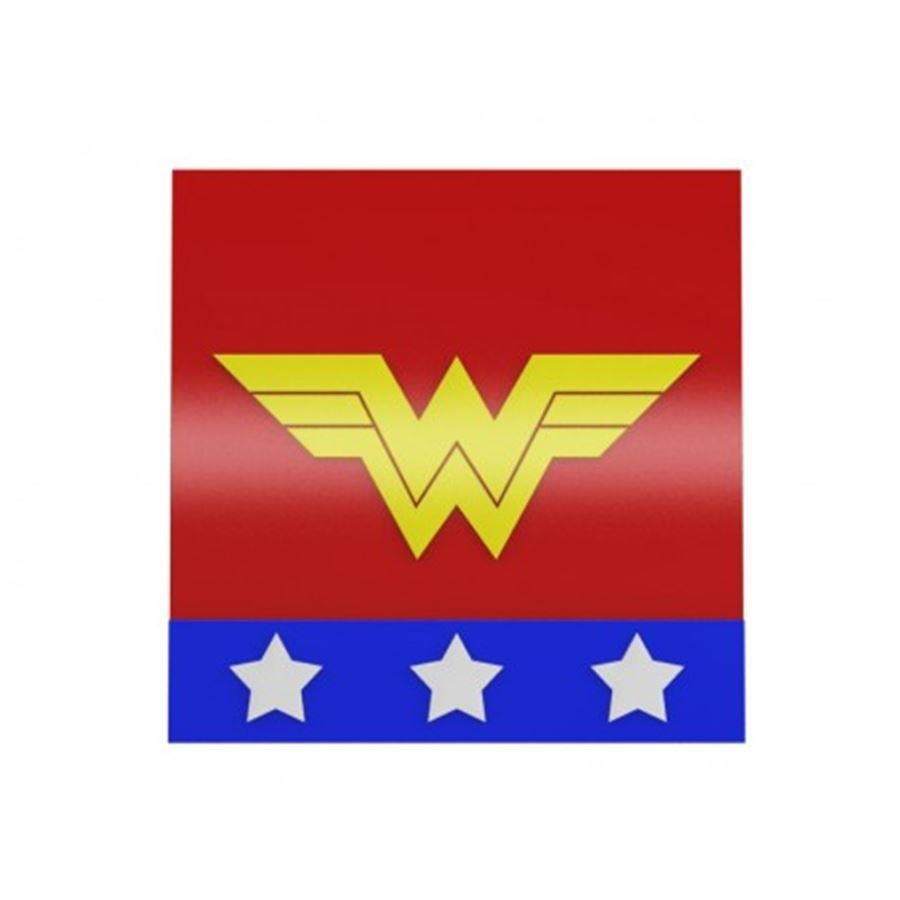 Quadro Wonder Woman Logo - Geton