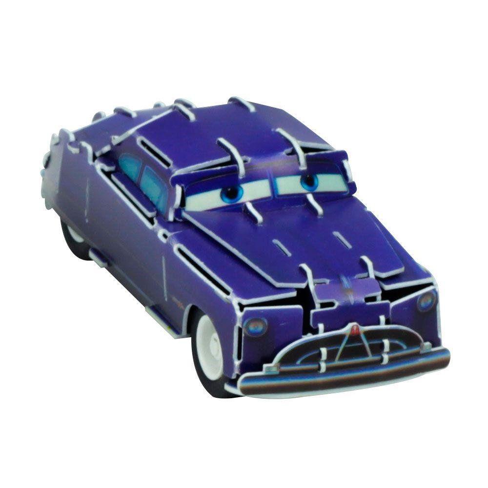 Quebra Cabeça 3D (Com Fricção) Doc Hudson: Carros (Disney) - DTC