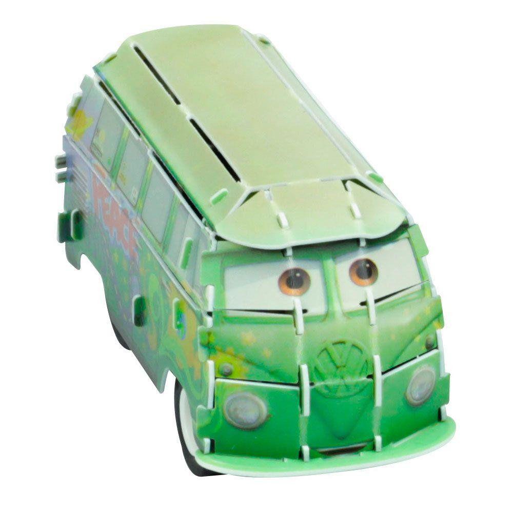Quebra Cabeça 3D (Com Fricção) Fillmore: Carros (Disney) - DTC