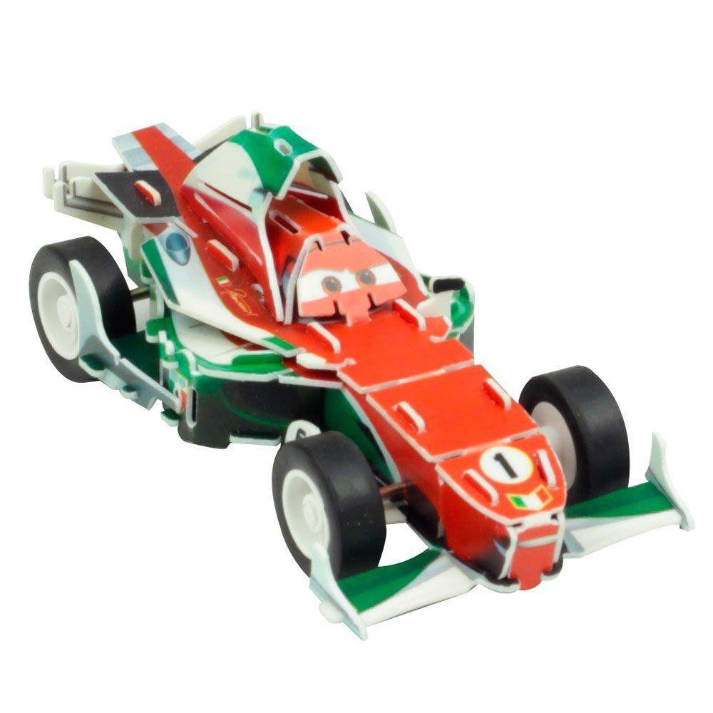 Quebra Cabeça 3D (Com Fricção) Francesco: Carros (Disney) - DTC