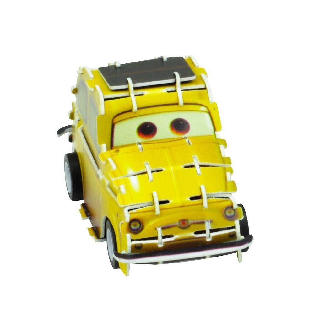 Quebra Cabeça 3D (Com Fricção) Luigi: Carros (Disney) - DTC