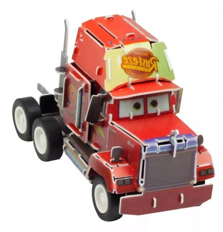 Quebra Cabeça 3D (Com Fricção) Mack: Carros (Disney) - DTC
