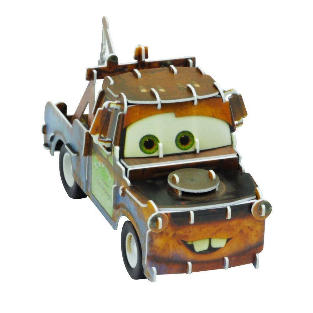 Quebra Cabeça 3D (Com Fricção) Mater: Carros (Disney) - DTC