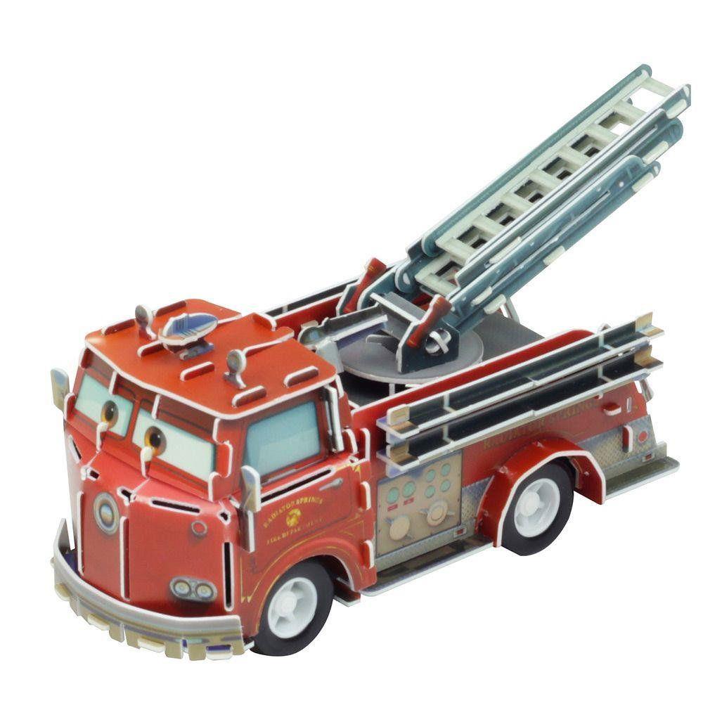 Quebra Cabeça 3D (Com Fricção) Red: Carros (Disney) - DTC
