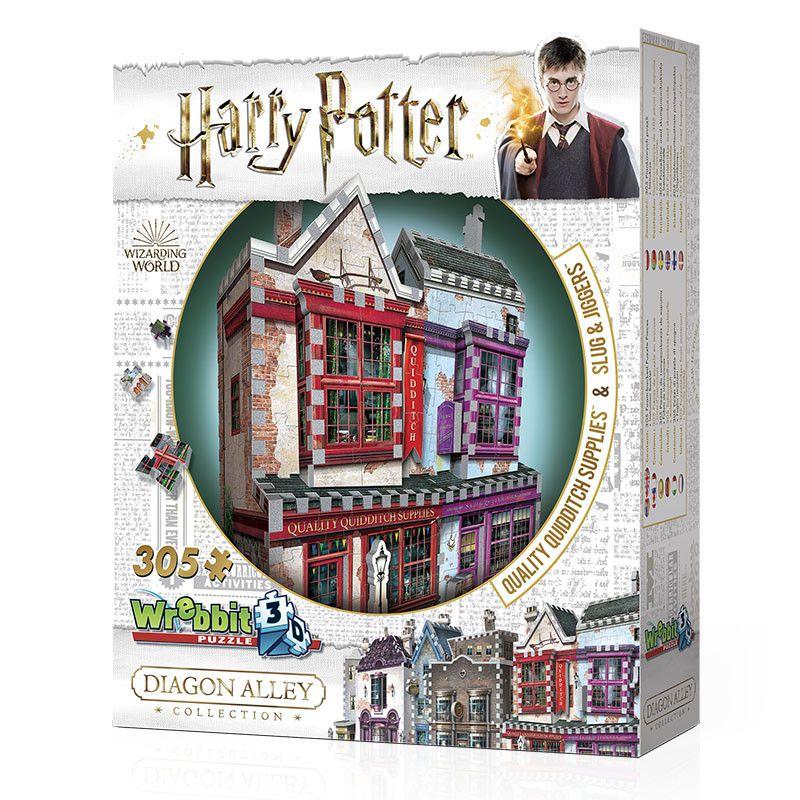 Quebra-Cabeça (Board Games - Boardgames) Artigos de Qualidade para Quadribol e Apotecário (Harry Potter) - Galápagos Jogos