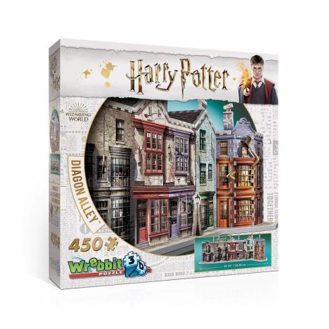 Quebra-Cabeça (Board Games - Boardgames) Beco Diagonal (Harry Potter) - Galápagos Jogos
