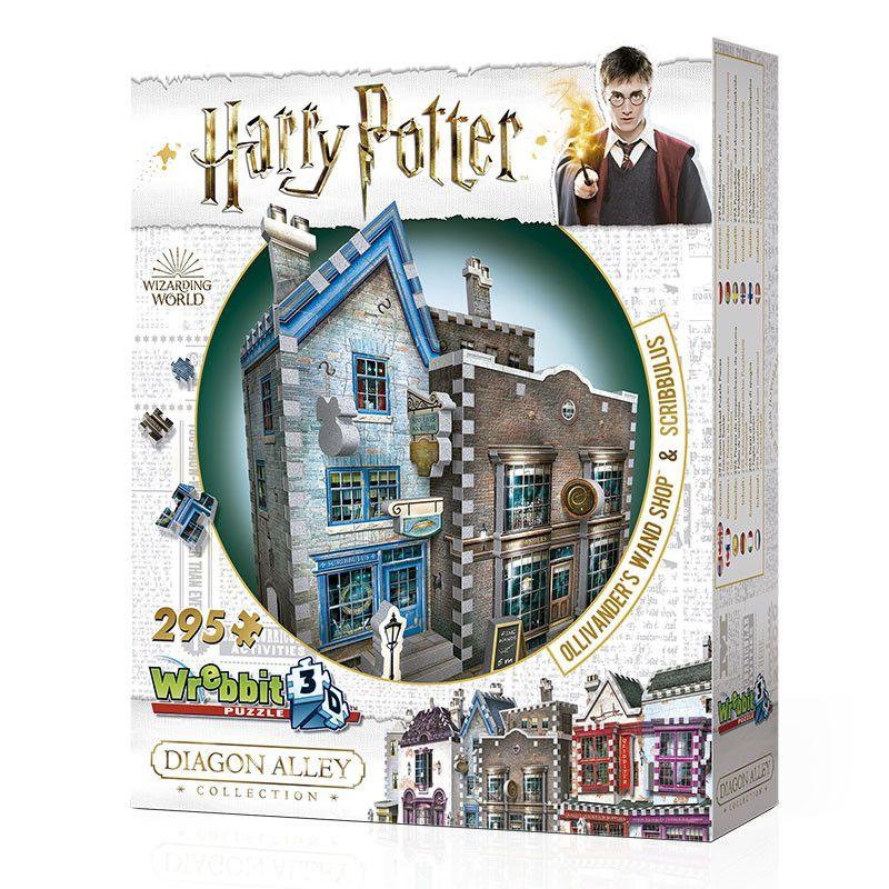 Quebra-Cabeça (Board Games - Boardgames) Loja de Varinhas Olivaras e Instrumentos de Escrita Scribbulus (Harry Potter) - Galápagos Jogos