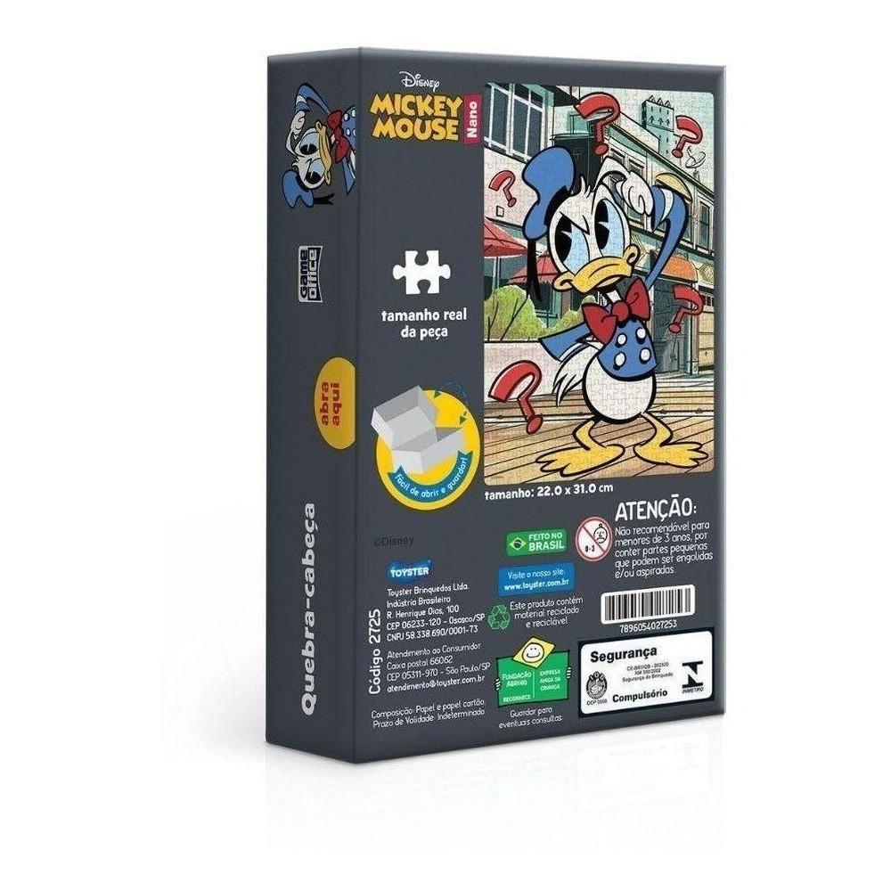 Quebra-Cabeça Pato Donald: Disney (Nano) - Game Office